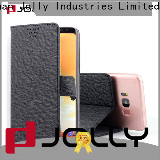 Jolly custom wholesale phone cases with credit card slot for mobile phone