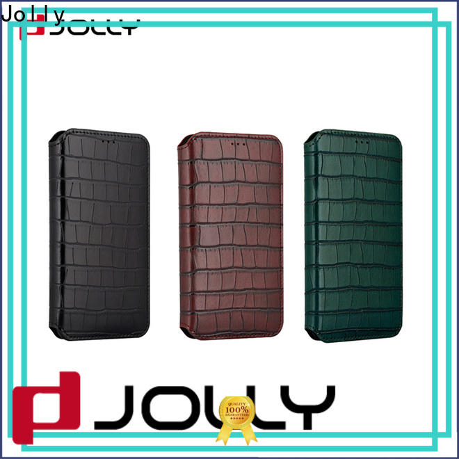 Jolly designer cell phone cases with slot for iphone xs
