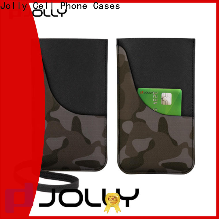 Jolly best mobile phone bags pouches factory for phone