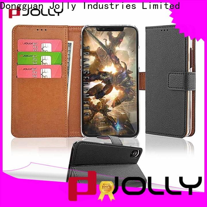Jolly wallet case with rfid blocking features for iphone xs