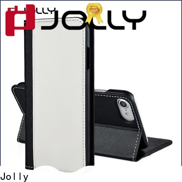 Jolly cell phone wallet purse for busniess for iphone xs