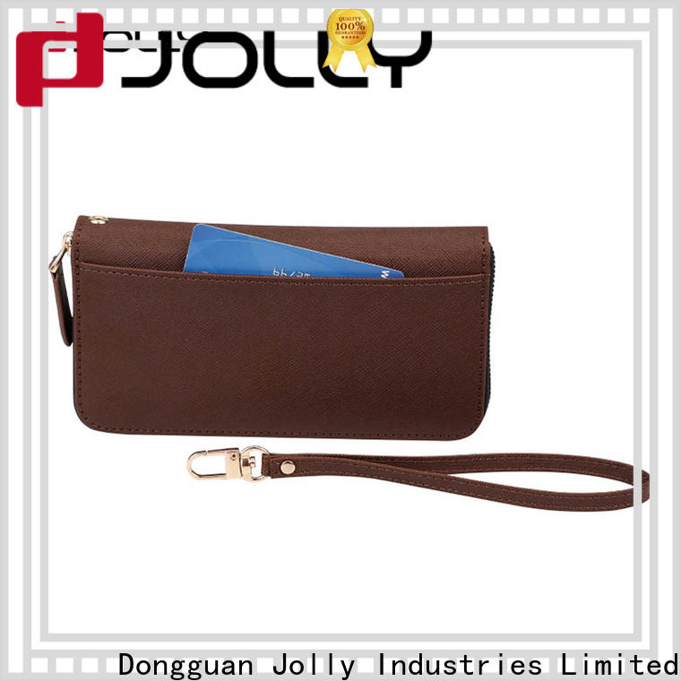 Jolly best phone case and wallet factory for mobile phone