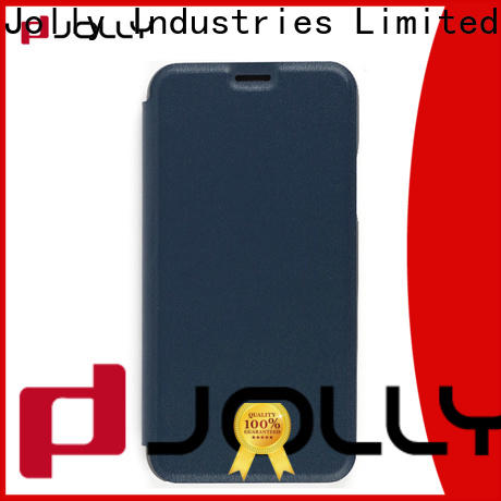 Jolly anti radiation phone case with slot kickstand for mobile phone