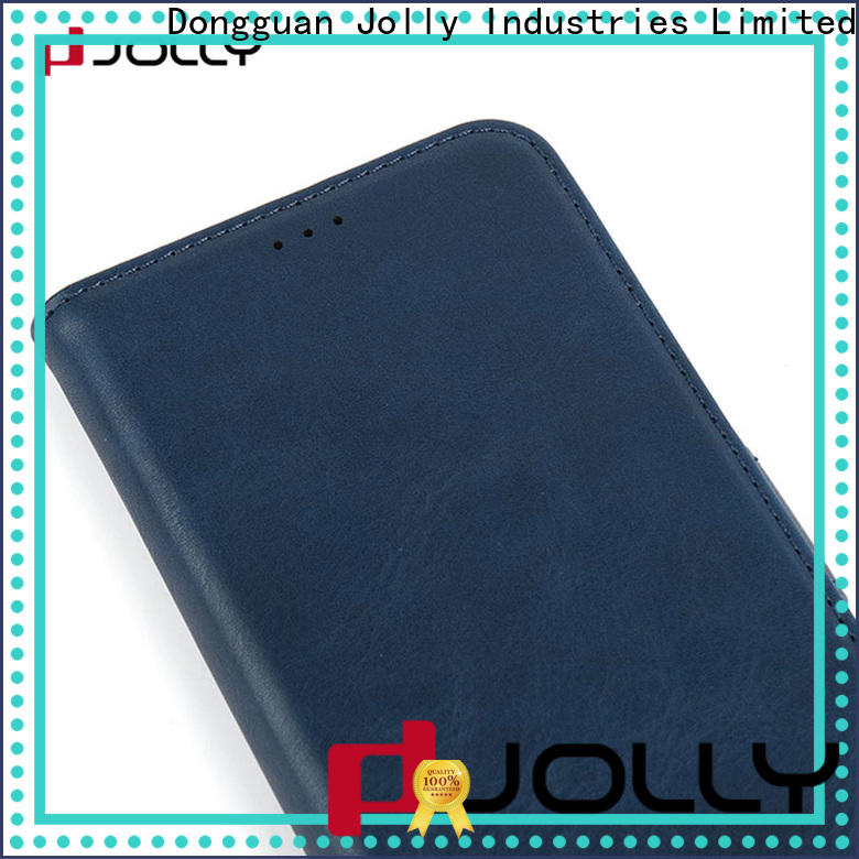Jolly best leather phone case supplier for sale