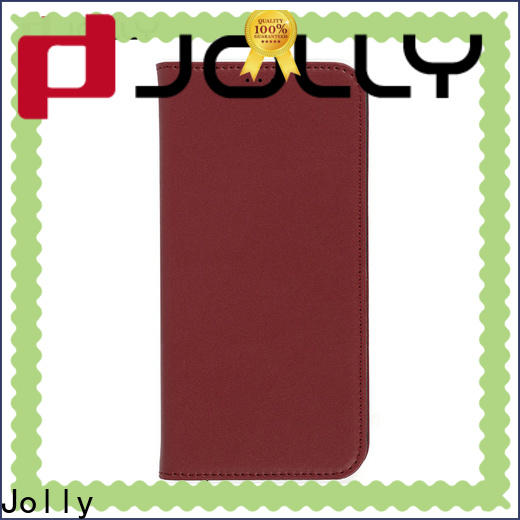Jolly magnetic android phone cases with slot kickstand for mobile phone