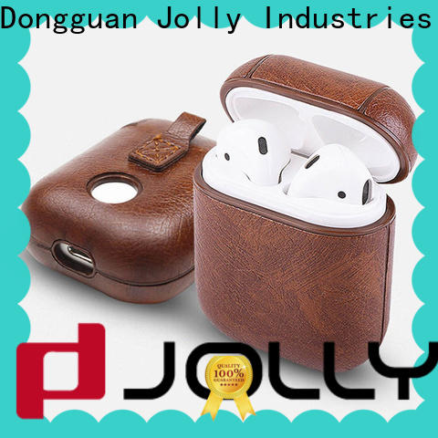 Jolly high-quality airpods carrying case supply for business