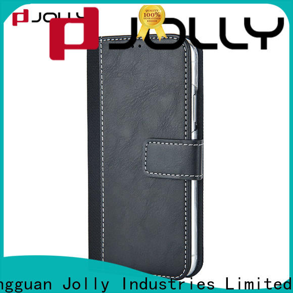 Jolly cell phone wallet purse with printed pattern cover for sale