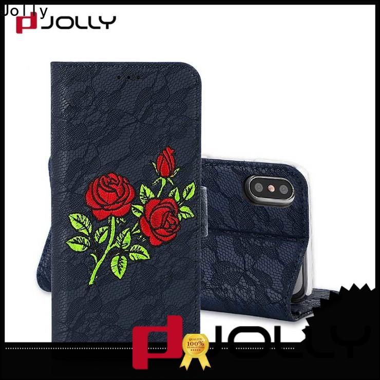 luxury cell phone wallet supplier for iphone xs