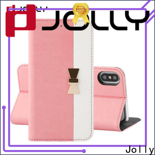 Jolly leather phone case supply for mobile phone