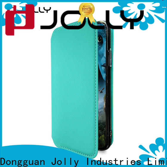 Jolly cell phone cases with slot kickstand for mobile phone