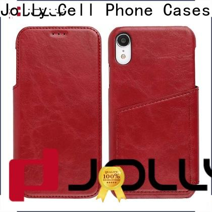 Jolly top flip phone case with slot kickstand for sale