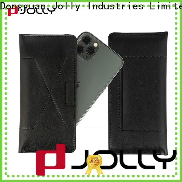 Jolly pu leather universal cases with credit card slot for sale