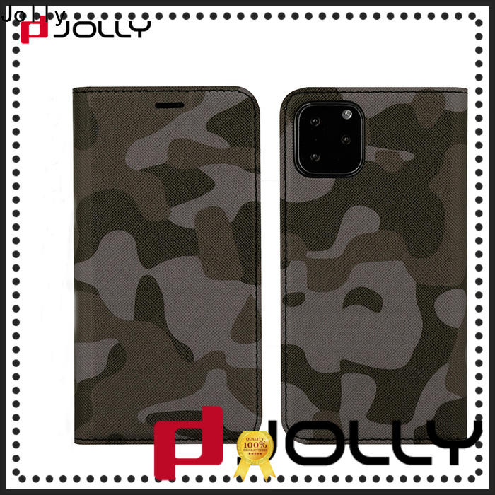 Jolly high quality flip cell phone case for busniess for sale