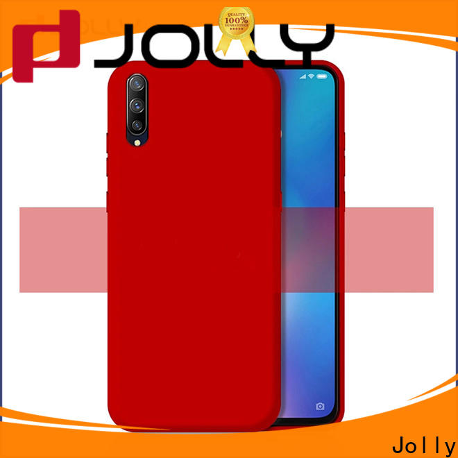 Jolly wood back cover factory for iphone xr