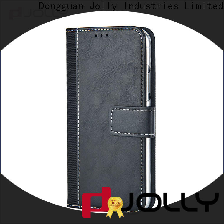 Jolly artificial cell phone wallet for busniess for apple