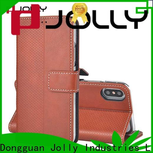 Jolly cell phone wallet purse supply for apple