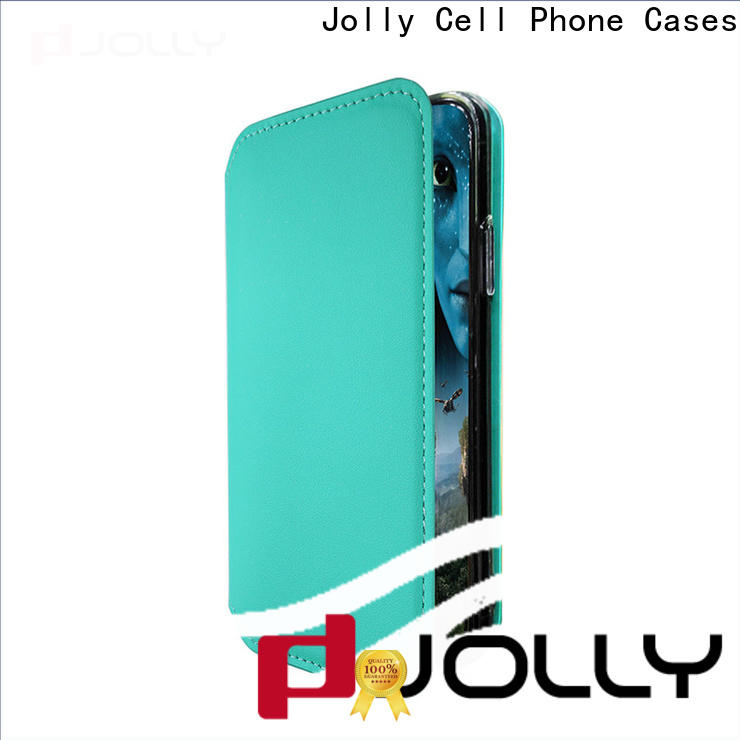 Jolly magnetic flip phone case supplier for sale