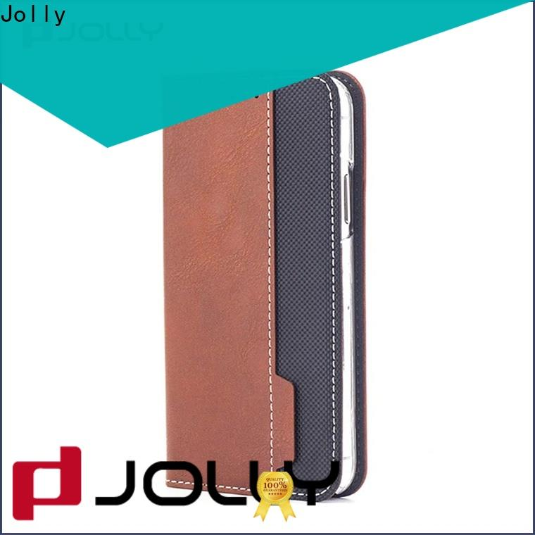 pu leather cheap cell phone cases with id and credit pockets for mobile phone