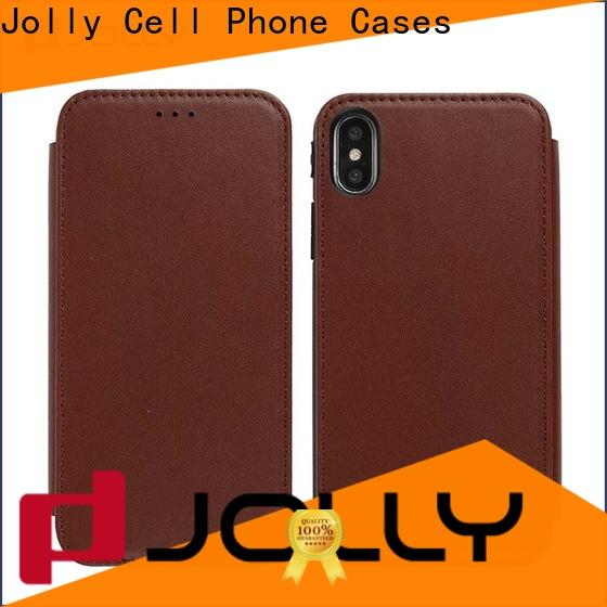 Jolly wholesale flip phone case supply for iphone xs