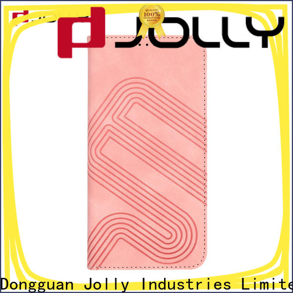 Jolly leather phone case company for sale