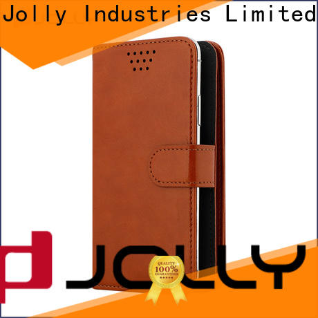Jolly wholesale universal cell phone case with credit card slot for sale