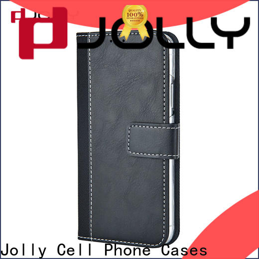 Jolly new cell phone wallet wristlet with slot for sale