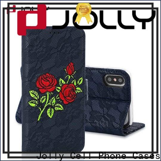 real carbon fiber smartphone wallet case company for apple