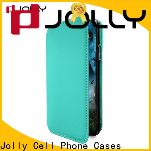 Jolly new personalised leather phone case company for sale