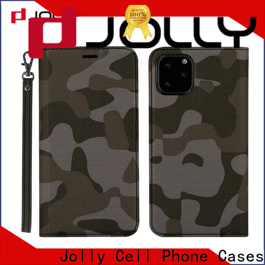 Jolly flip phone case supply for mobile phone