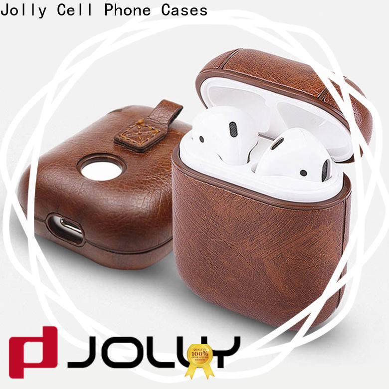 Jolly airpods carrying case supply for earbuds