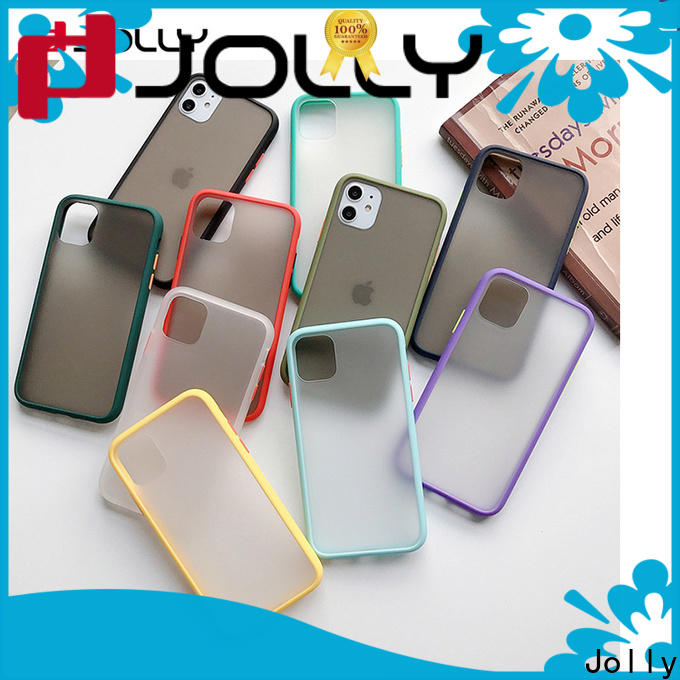 Jolly shock stylish mobile back covers supply for iphone xs