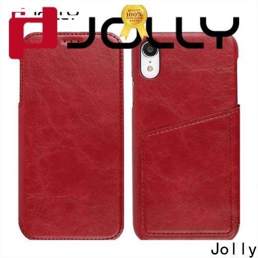 Jolly cell phone protective covers with id and credit pockets for mobile phone