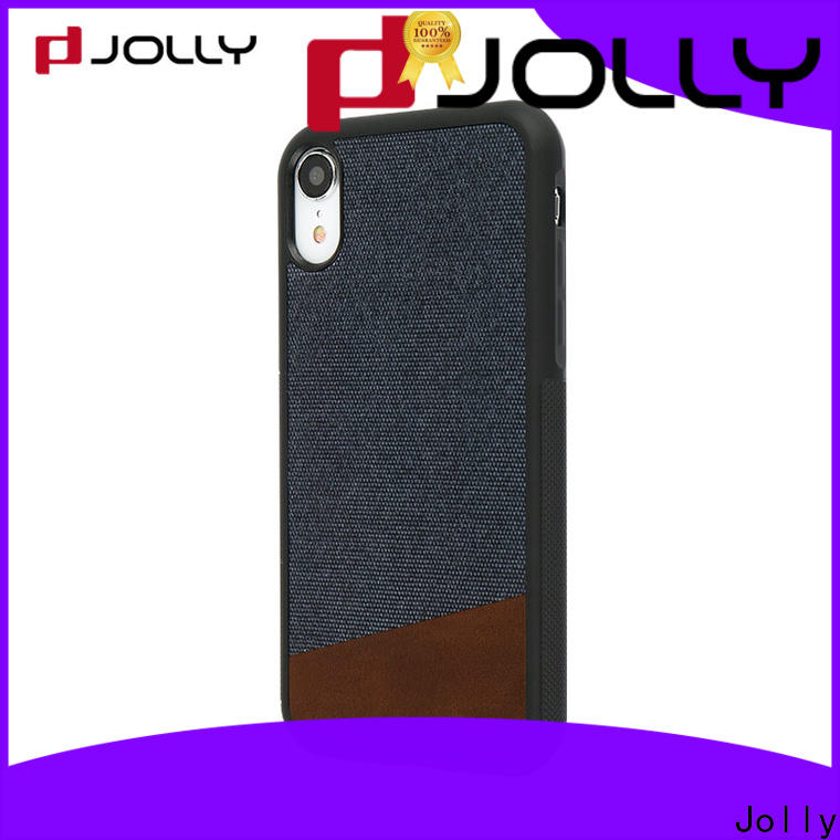 Jolly stylish mobile back covers manufacturer for iphone xs