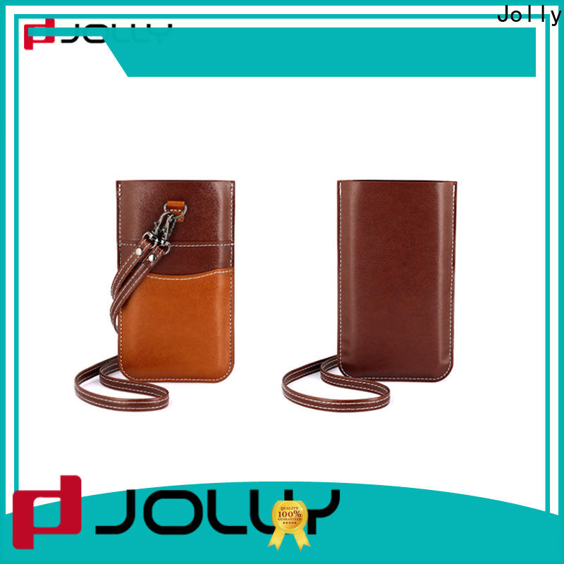 Jolly custom phone pouch factory for cell phone