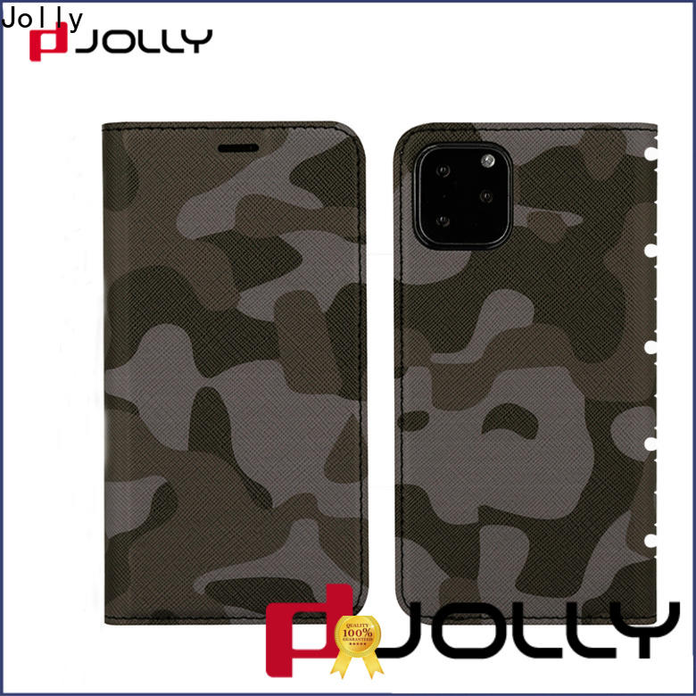 Jolly anti radiation phone case with id and credit pockets for mobile phone