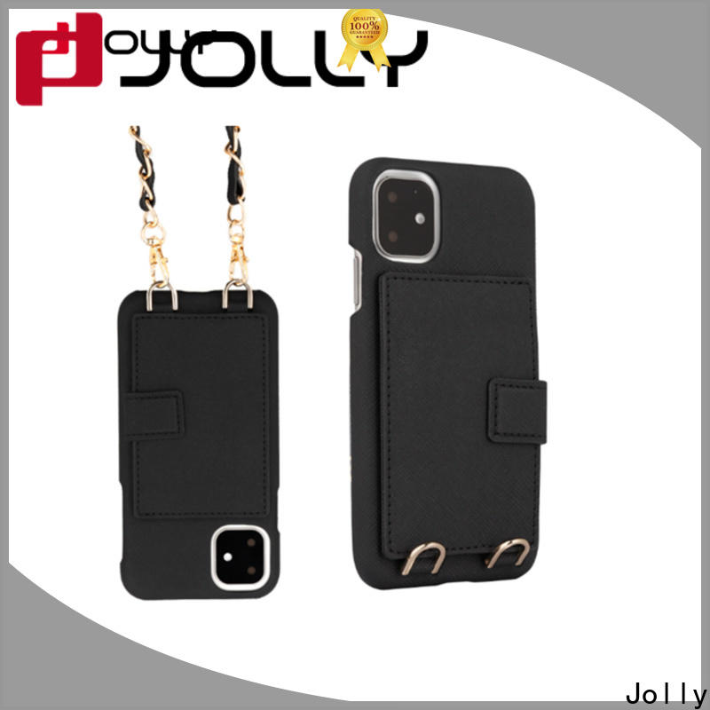 Jolly wholesale crossbody smartphone case company for cell phone