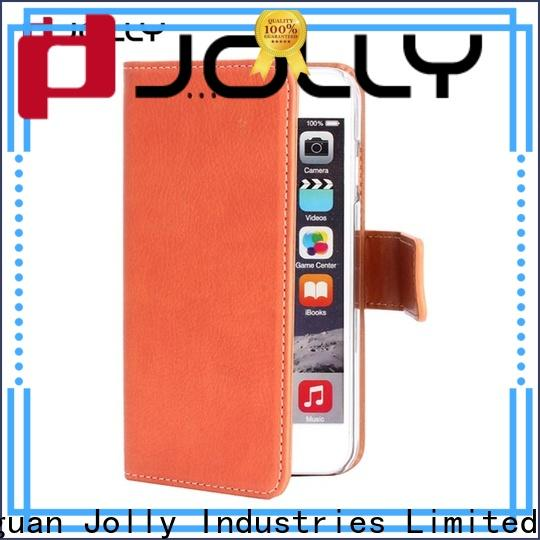 Jolly ladies purse crossbody cell phone wallet case with id and credit pockets for iphone xs