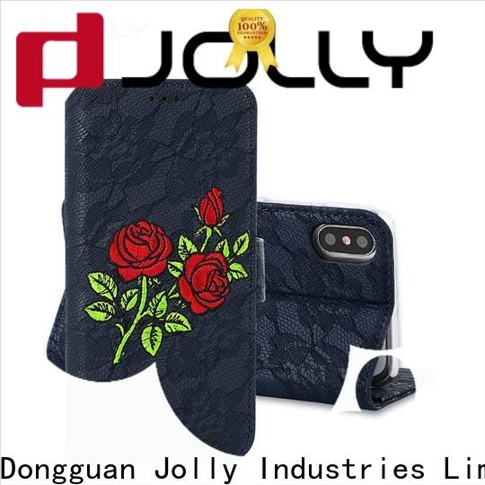 luxury phone case and wallet for busniess for mobile phone