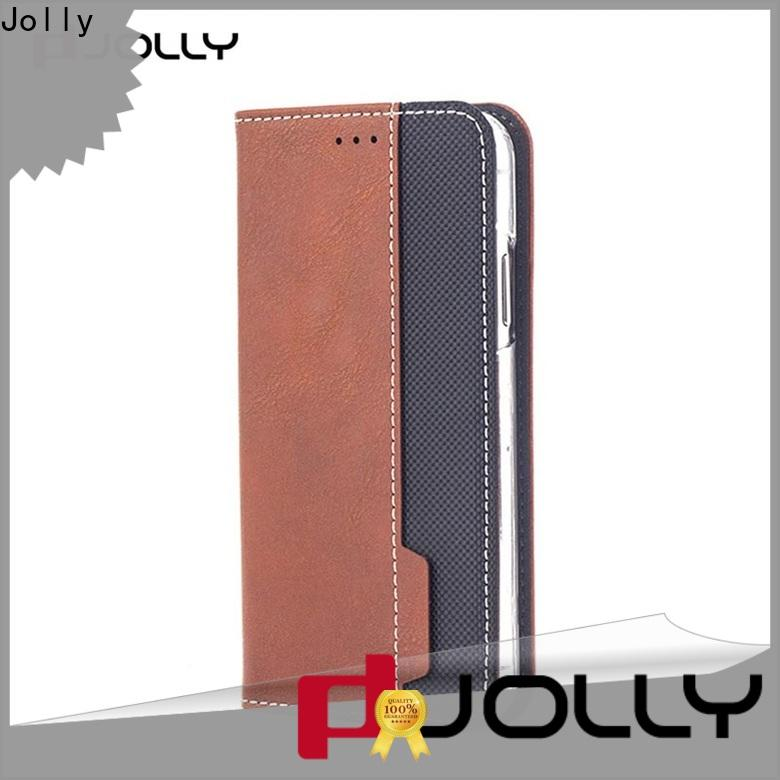 Jolly latest flip phone case supply for iphone xs