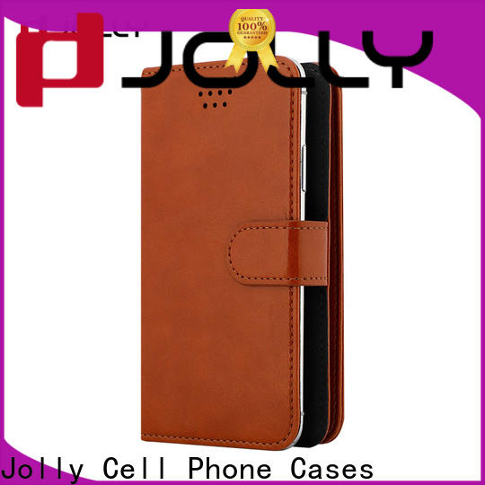 pu leather universal phone case with credit card slot for mobile phone