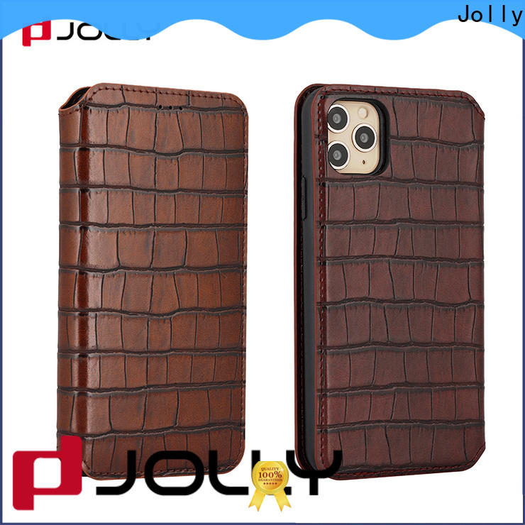 Jolly magnetic detachable phone case for busniess for mobile phone