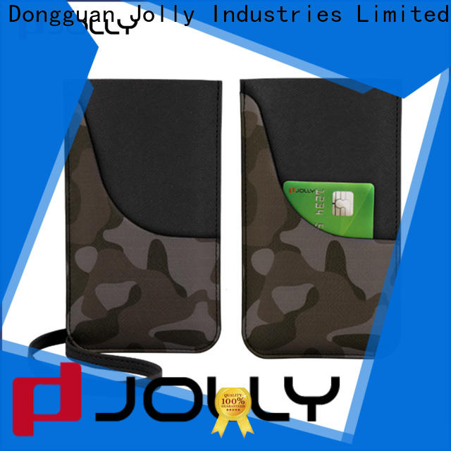 Jolly best mobile phone pouches factory for phone