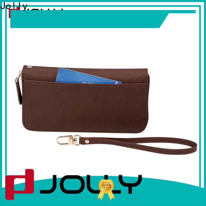 Jolly magnetic wallet phone case factory for mobile phone