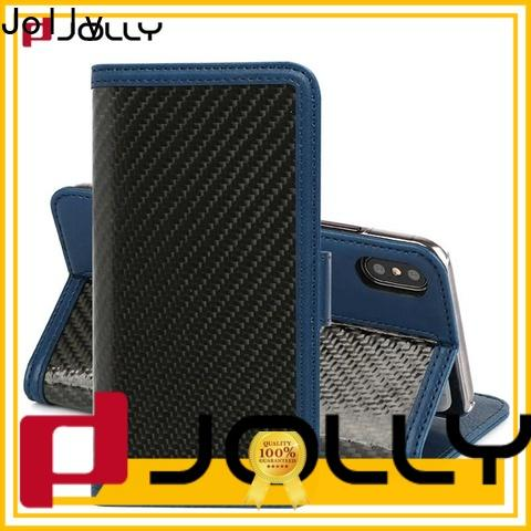 Jolly phone case and wallet with credit card holder for mobile phone