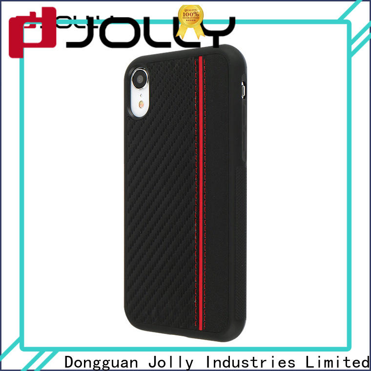 Jolly absorption back cover for busniess for iphone xr