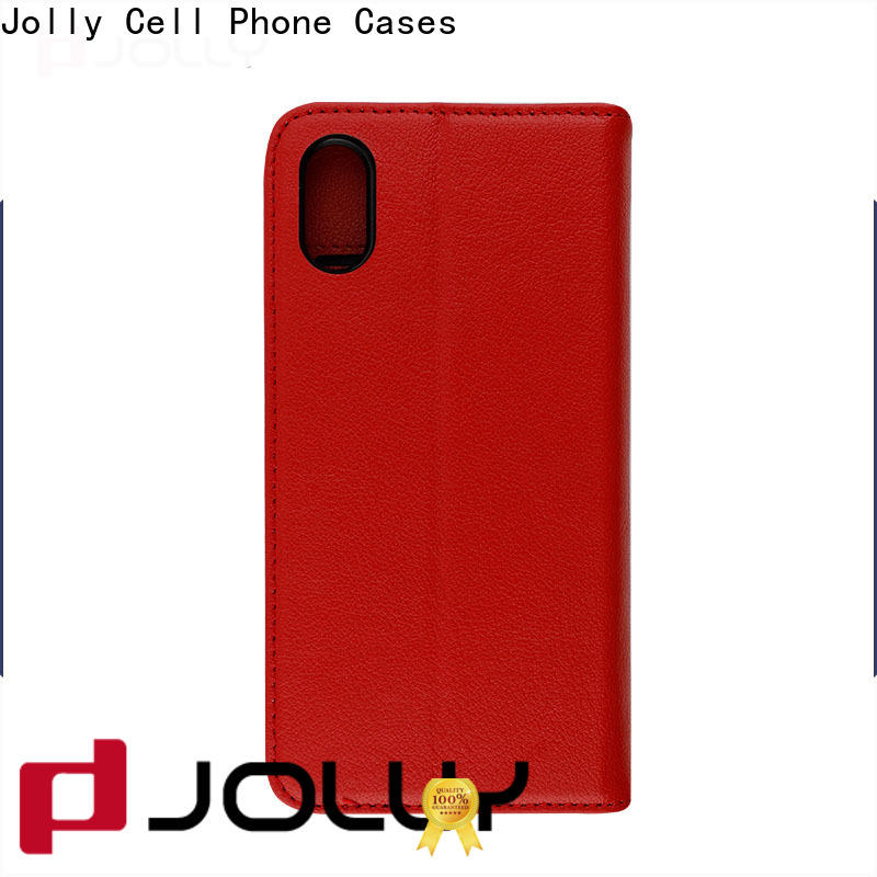 Jolly best cheap phone cases with slot kickstand for mobile phone
