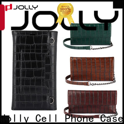 Jolly hot sale crossbody phone case factory for cell phone