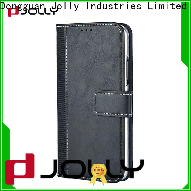 Jolly phone case and wallet with cash compartment for mobile phone
