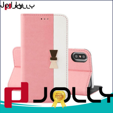 Jolly folio anti-radiation case supplier for mobile phone