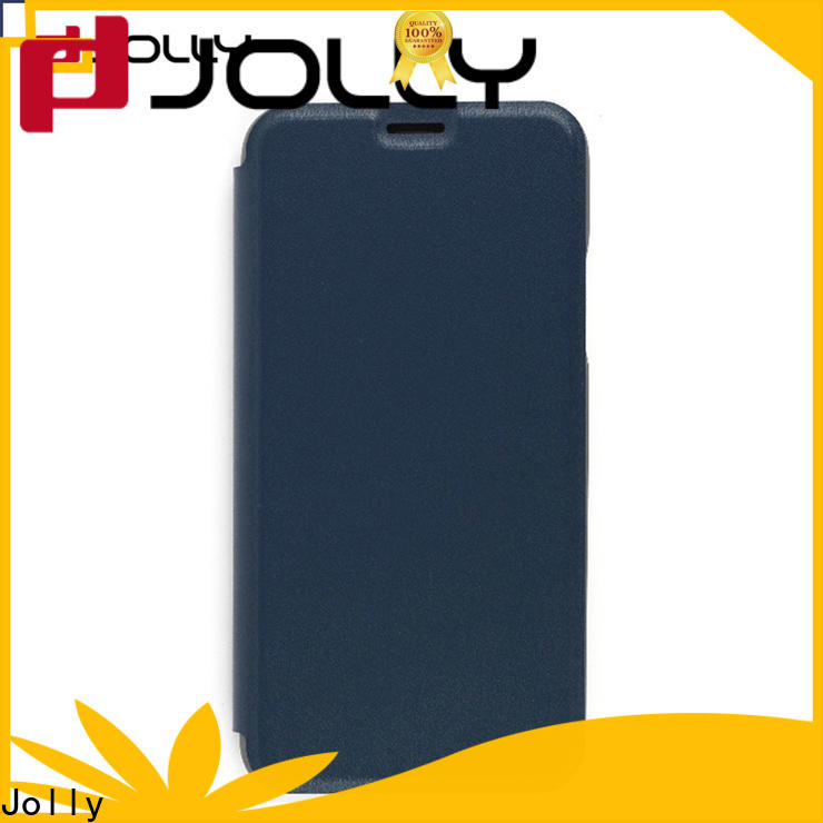 slim leather cell phone protective covers with slot for sale